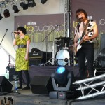 Ham Sandwich on the BBC Introducing Stage in The Park.