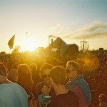 pyramid stage sunset!