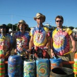 Tiedye, sunshine and random drums!