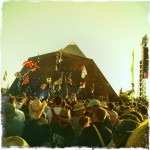 Elbow on the Pyramid Stage, 2011