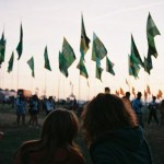 Two of my friends at Glasto 2010.
