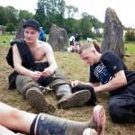 The boys chillin' at stone circle!