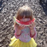 lily aged 4