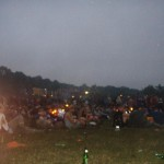 Waiting for the sunrise at the Stone Circle