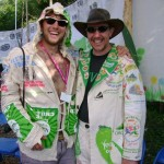 Me with Colin, an Oxfam steward with a similar idea.