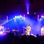 Guillemots acoustic set on Avalon stage, Sunday evening.