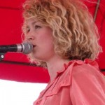 Beth Rowley. Special guest and Beautiful voice at the Bandstand,Friday