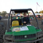 There was only one way to get around the festival in 2011!