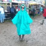 Gotta love the festival poncho!