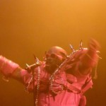 """Cee Lo Green in his """"satanic tomato"""" outfit"""