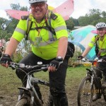 Even the police embrace the festival!