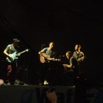 Coldplay performing their new song: Us Against The World