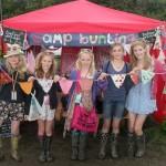 Glastonbury Girls! Whilst waiting for our acts to appear my friends and I managed to entertain ourselves making this beautiful bunting! <3