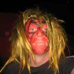 My mates said i looked good in this disguise until someone else mentioned i looked scary !!!!