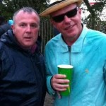 me and suggs, what a nice fella,