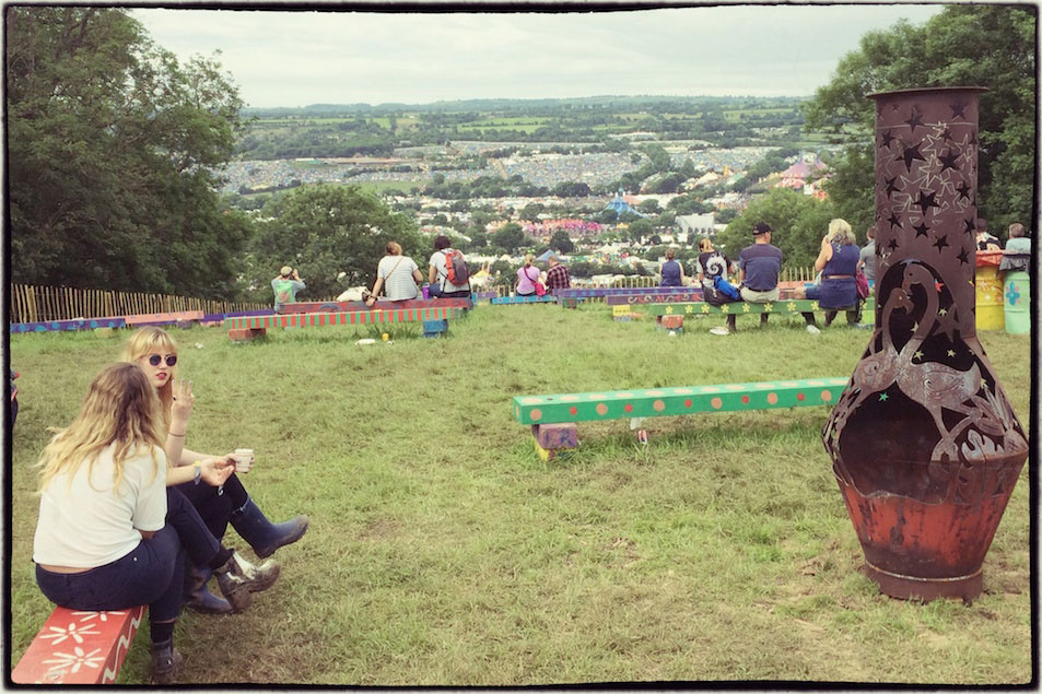 Worthy View pre-erected camping | Glastonbury Festival