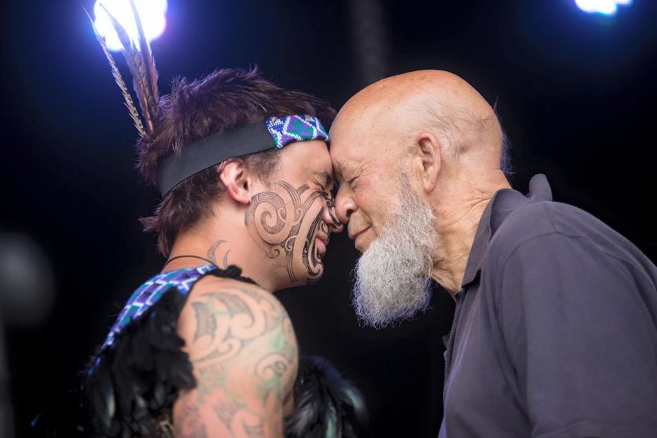 michael eavis and manaia jpeg