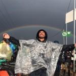 Glasto rainbow