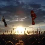 Sunset during Interpol