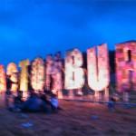 Glastonbury glows