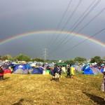 Rainbow from John Peel Stage