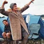 £10 coat! At my camp.