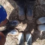 Start of the lovely mud