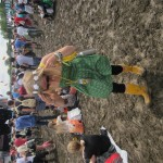 Does my outfit clash with this mud?