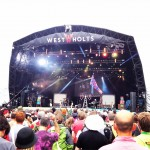 A brilliant set from Public Service Broadcasting on West Holts 2014.