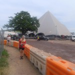 backstage at the pyramid:D