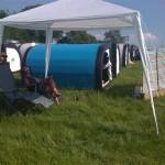 Pennard hill campsite
