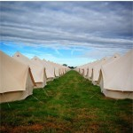 Tents In Perfect Formation