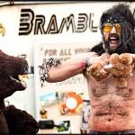 Man vs. bear - Round 1