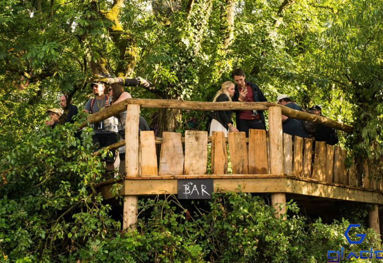 The Spike treehouse 2014