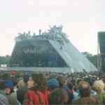 Archaos on the Pyramid stage