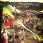 A view from the helter skelter
