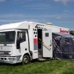 Slumbertruck makes its debut at Glastonbury