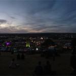 Michael Eavis Shangri-Hell around 1am Sunday morning