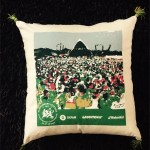 Cushion made from bag