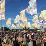A great summer evening at Glastonbury