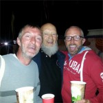 Myself and my bro with Michael Eavis