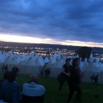 Even the tents look awesome at Glastonbury