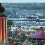 Glastonbury from the hill