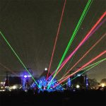 Major laser action from Coldplay in 2016