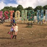 Glasto amazing sign