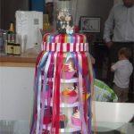 Our amazing Glastonbury themed wedding cake ❤️