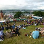 Looking at the Festival from Above The Park and wondering what lies ahead