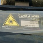 """Class 4 laser"" - always gets my juices flowing!"