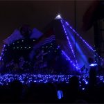 Coldplay's synchronised Pyramid lights and crowd wristbands - beautiful!