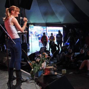 Call for poets and spoken word artists for Glastonbury 2017